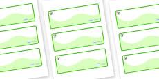 Dinosaur Themed Editable Drawer-Peg-Name Labels (Colourful)