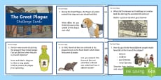 KS2 The Great Plague Research and Challenge Questions