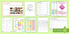 Maths Shapes Catch-Up Resource Pack