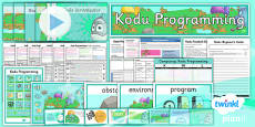 Computing: Kodu Programming Year 6 Unit Pack