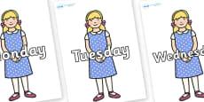 Days of the Week on Goldilocks