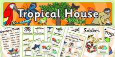 Tropical House Role Play Pack