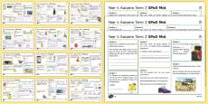 * NEW * Year 4 Spelling, Punctuation and Grammar Activity Mats Resource Pack