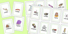 Two Syllable CR Playing Cards
