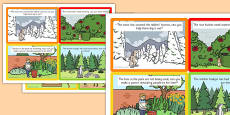 Role Play Challenge Cards to Support Teaching on Percy The Park Keeper