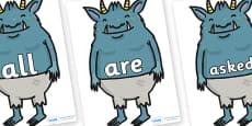 Tricky Words on Trolls