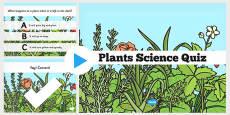 Plants Science PowerPoint Quiz