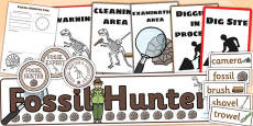 Fossil Hunter Role Play Pack