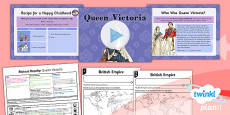 History: Riotous Royalty: Queen Victoria LKS2 Lesson Pack 5