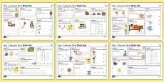 Year 1 Autumn Term 1 SPaG Activity Mats
