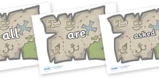 Tricky Words on Treasure Maps
