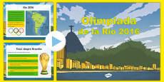 Jocurile Olimpice de la Rio, 2016 - Prezentare informativă PowerPoint