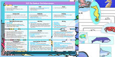 EYFS Enhancement Ideas and Resources Pack to Support Teaching on The Rainbow Fish