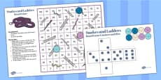 Snakes And Ladders Game (1-100)
