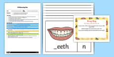 EYFS Initial Sound All About My Body Busy Bag Plan and Resource Pack