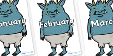Months of the Year on Trolls
