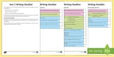 Year 2 Writing Checklist