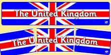 United Kingdom Display Banner