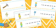 Combined Number and Alphabet Strips to Support Teaching on Titch