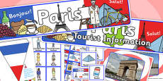 Paris Tourist Information Office Role Play Pack