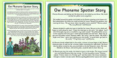 Ow Phoneme Spotter Story