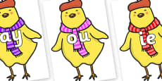Phase 5 Phonemes on Chicken Licken