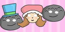 Little Miss Muffet Role Play Masks (Australia)