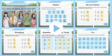 Y6 Fractions Warm-Up PowerPoint
