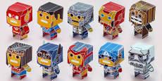 Enkl Pop Desk Buddy Characters Printable Pack