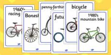 Bike Display Posters