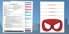 EYFS Superhero Super Listening Adult Input Plan and Resource Pack