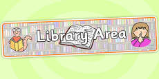Library Area Display Banner