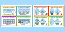 Traditional Tale Maths Word Problem Challenge Cards