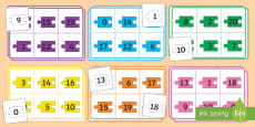 Number Bonds to 20 (Jigsaw Pieces)