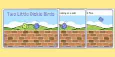Two Little Dickie Birds Sequencing