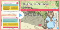 Year 2 Term 1 Paper 1 Reading Assessment Guided Lesson PowerPoint
