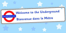 Welcome To The Underground Role Play Banner