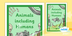 PlanIt - Science Year 3 - Animals Including Humans Unit Book Cover