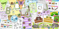 Minibeasts Resource Pack