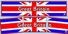 Great Britain Display Banner
