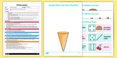 EYFS Build a Sundae Busy Bag Plan and Resource Pack