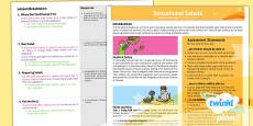 D&T: Sensational Salads KS1 Planning Overview