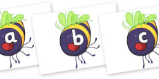 Phase 2 Phonemes on Bumblebee to Support Teaching on The Crunching Munching Caterpillar