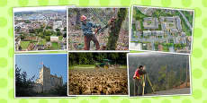 Land Use Photo Clip Art Pack
