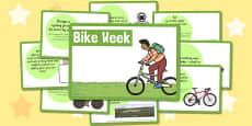 Bike Week Challenge Cards