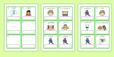 EAL Emergencies Editable Cards with English Urdu