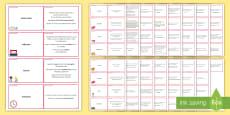 Grammar Glossary Cards