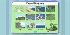 Physical Geography Word Mat