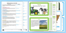 EYFS Farm Discovery Sack Plan and Resource Pack