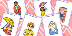 'What Is The Weather Like?' Finish The Picture Inferencing Activity